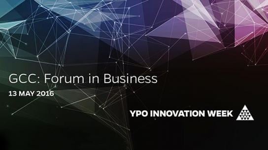 GCC: Forum for Business, 13 May 16, 8:00 CT