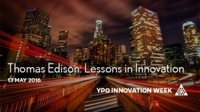 Thomas Edison: Lessons in Innovation